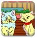 为小动物填色-儿童小游戏