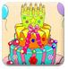 色彩生日蛋糕-儿童小游戏