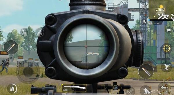 绝地求生刺激战场八倍镜怎么调距