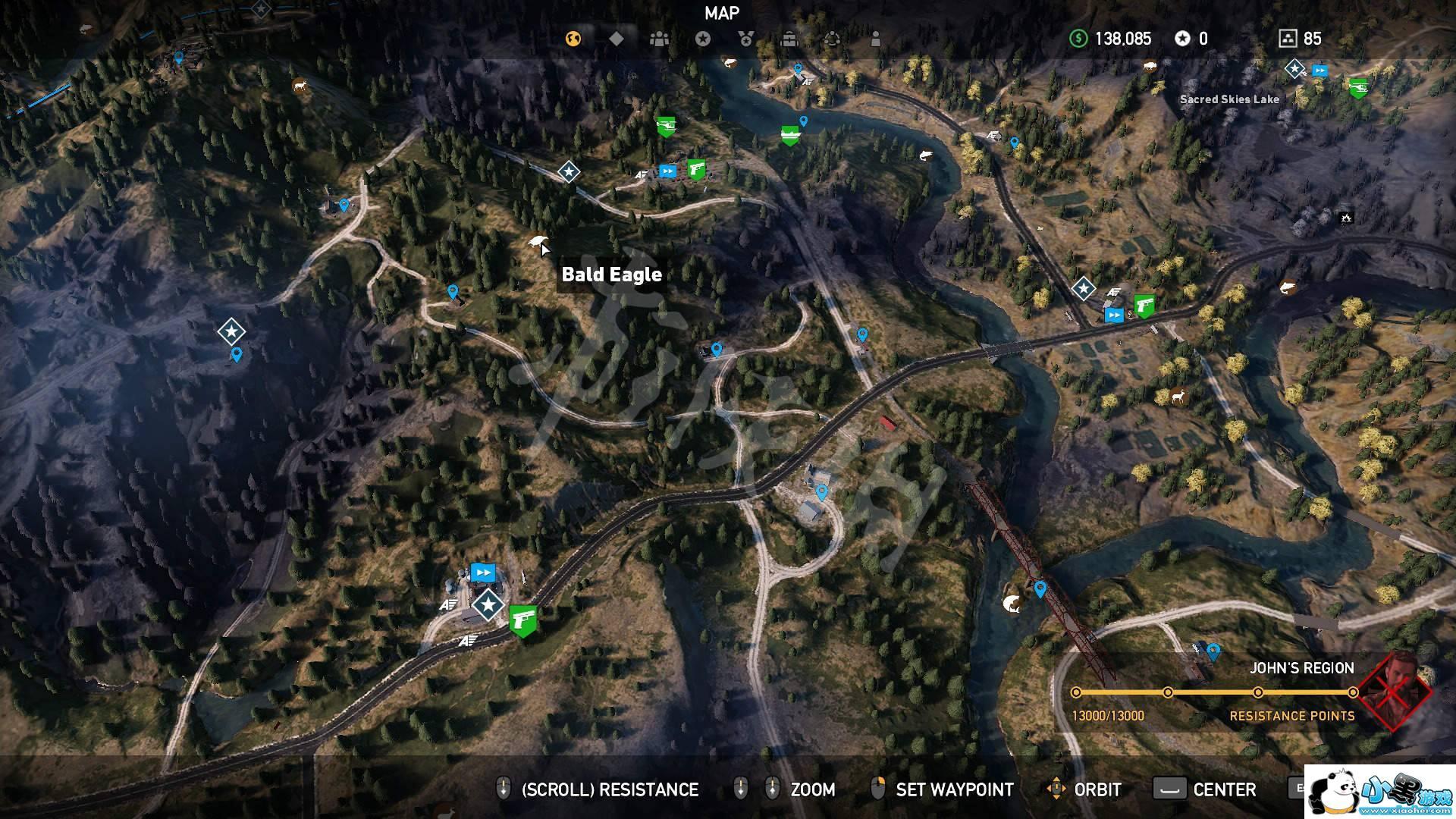单机资讯 单机攻略    《孤岛惊魂5》有些重要的动物需要玩家去收集