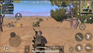 绝地求生刺激战场沙漠地图户外狙击枪卡点思路分析