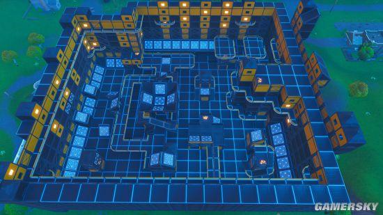 《堡垒之夜》每周原创街区攻略 跳板工厂资源点位打法一览-单机攻略