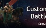 《骑马与砍杀2》新情报透露 自定义战斗玩法丰富多彩-资讯新闻