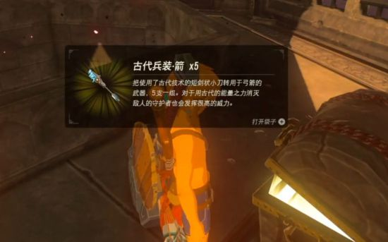 《塞尔达传说荒野之息》海拉鲁城堡内全古代箭位置视频展示-单机攻略