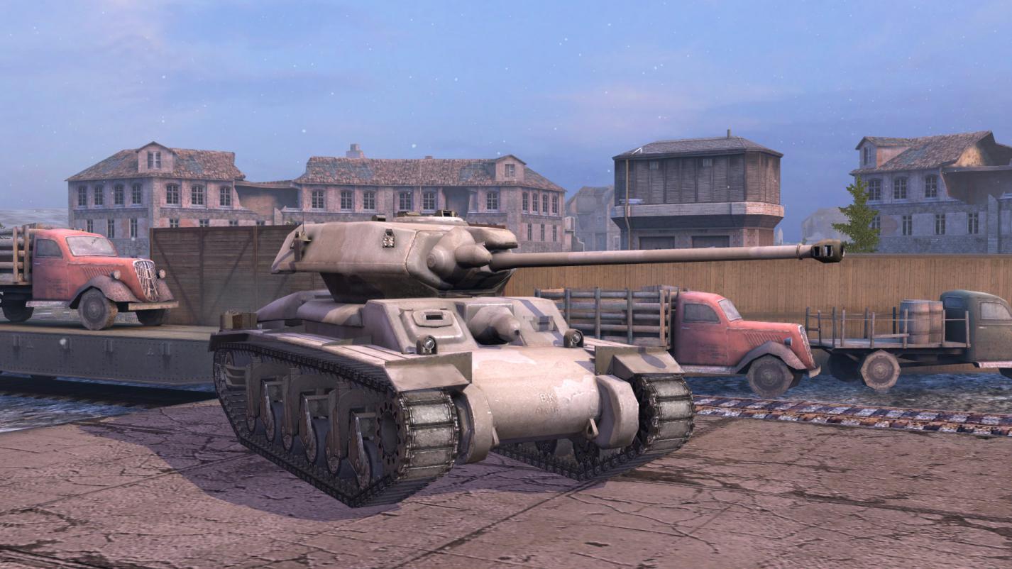 《坦克世界闪击战》哨兵活动进行中 赢取6级限定战车!