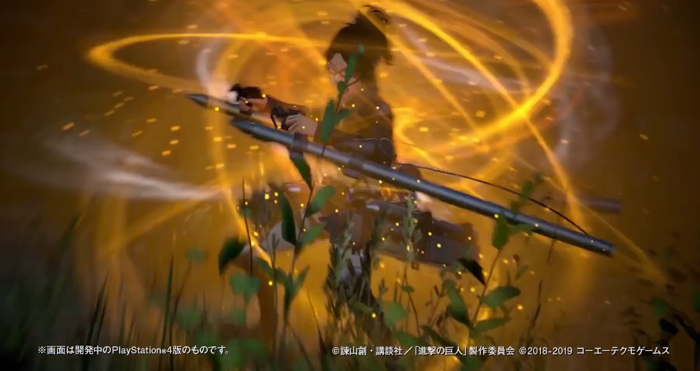 新玩法《进击的巨人2:最终之战》新武器雷枪演示公开
