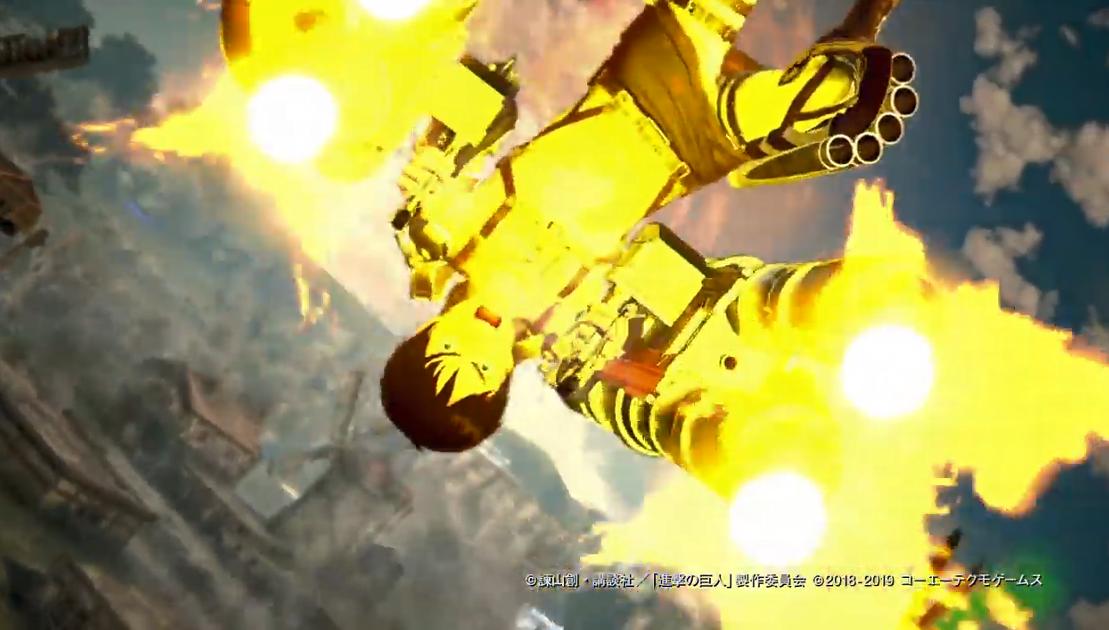 《进击的巨人2:最终之战》游戏演示 加特林+巨人变身