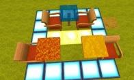 《迷你世界》液体桌面制作流程分享