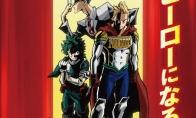 热血名作《我的英雄学院》第4季新英雄公布 10月开播