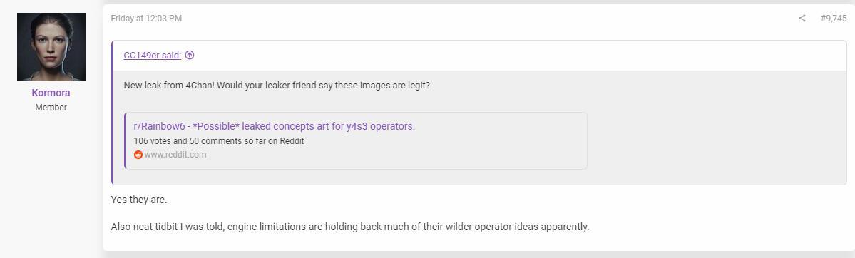 知情人称《彩虹六号:围攻》的引擎正在拖缓团队更新进程