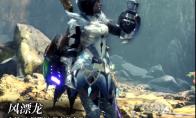 《怪物猎人:世界》冰原dlc大师等级防具-风漂龙女装视频分享