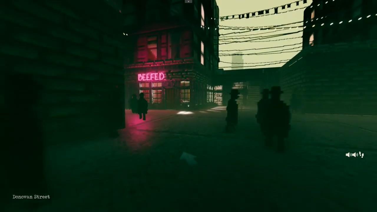 潜行侦探游戏《疑影》20分钟演示 开发者只有一个人