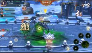 《剑网3:指尖江湖》竞技场3V3模式实录!打击感爆表!-游戏视频