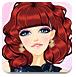 漂亮的红色头发