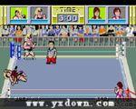 日本职业摔角 - 松本泉压制 (Dump / Body Slam) 日版 -街机游戏