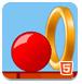 红色弹球-冒险小游戏