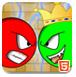 红球与绿球王-冒险小游戏