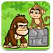 小猴父子历险记-冒险小游戏