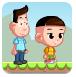 大头儿子丛林历险记-冒险小游戏