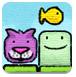 滑行猫咪爱吃鱼-敏捷小游戏