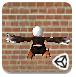 3D飞翔的小鸟