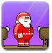 踢圣诞老人的屁股2-敏捷小游戏