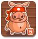 忍者猪的修行-敏捷小游戏