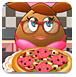 土豆姑娘做比萨-女孩