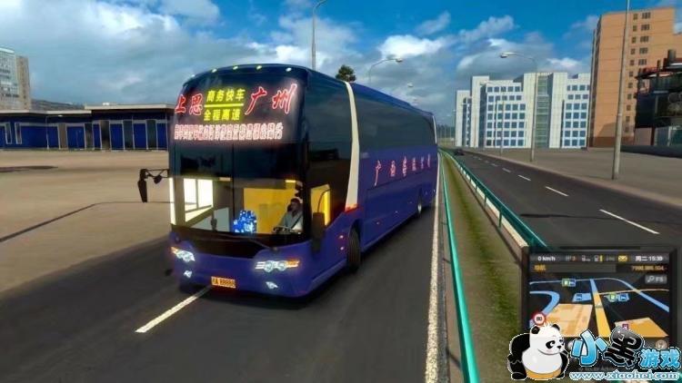 欧洲卡车模拟2(遨游中国2) 中国地图 语音导航 兰博基尼