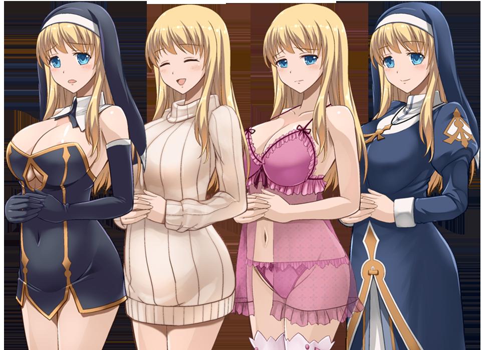 RPG/汉化/全动态[SSTM]艾米丽亚娜:魔契的圣女 精修完整汉化版+全CG【新汉化/1G】