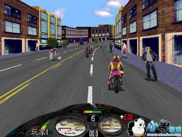 暴力摩托2004电脑版