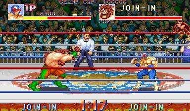 摔角霸王中文版-街机游戏