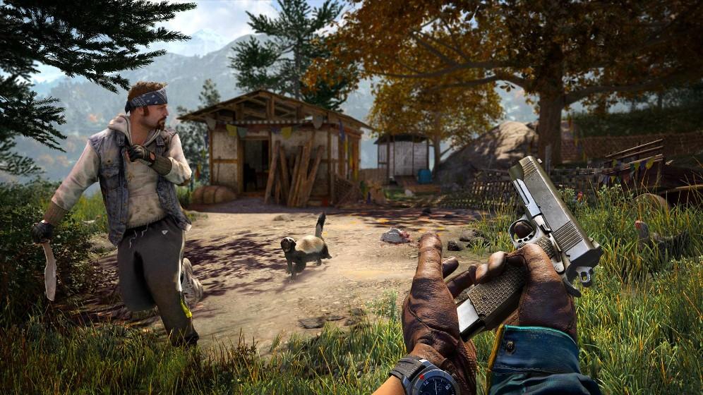 孤岛惊魂4-射击游戏