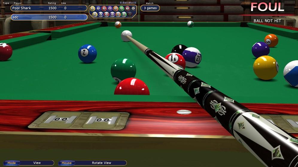 虚拟台球4-休闲益智