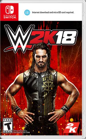 NS WWE2K18美国职业摔角联盟-主机游戏