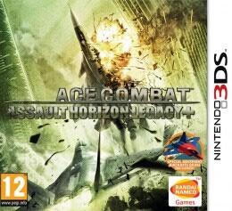 3DS皇牌空战3D战火纷飞-主机游戏
