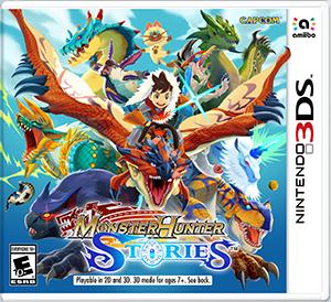 3DS怪物猎人物语-主机游戏