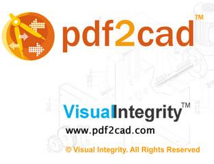 PDF2CAD V11破