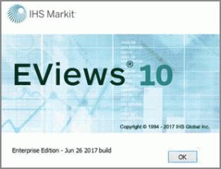 EViews10 Win10 10.0 最新版(32位/64位)