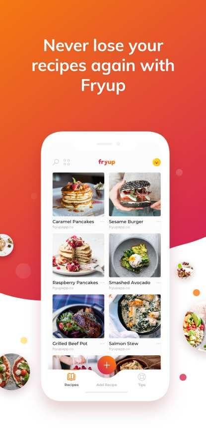 Fryup食谱APP软件下载官方版图片1