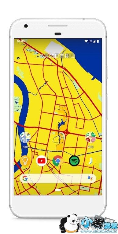 中国地图动态壁纸