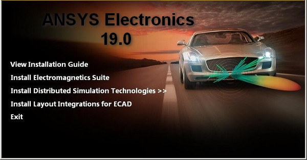 ANSYS Electronics Suite 19安装破解教程