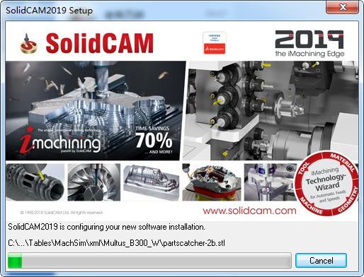 SolidCAM 2019 SP0补丁包使用教程-SolidCAM 2019安装教程