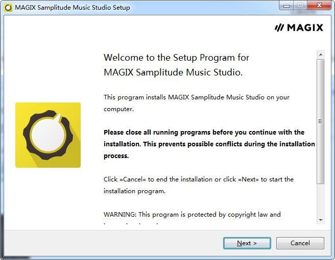 MAGIX Samplitude Music Studio 2017详细图文安装教程
