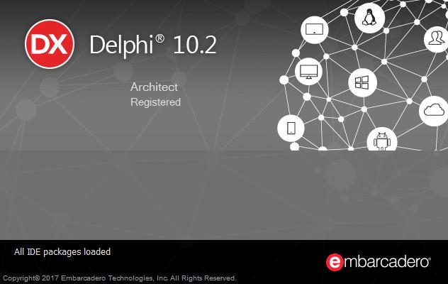 Delphi Rad Studio 10.2 Tokyo安装激活教程