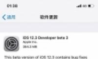 """苹果iOS12.3 beta3更新使用方法教程-软件教程"""" title="""