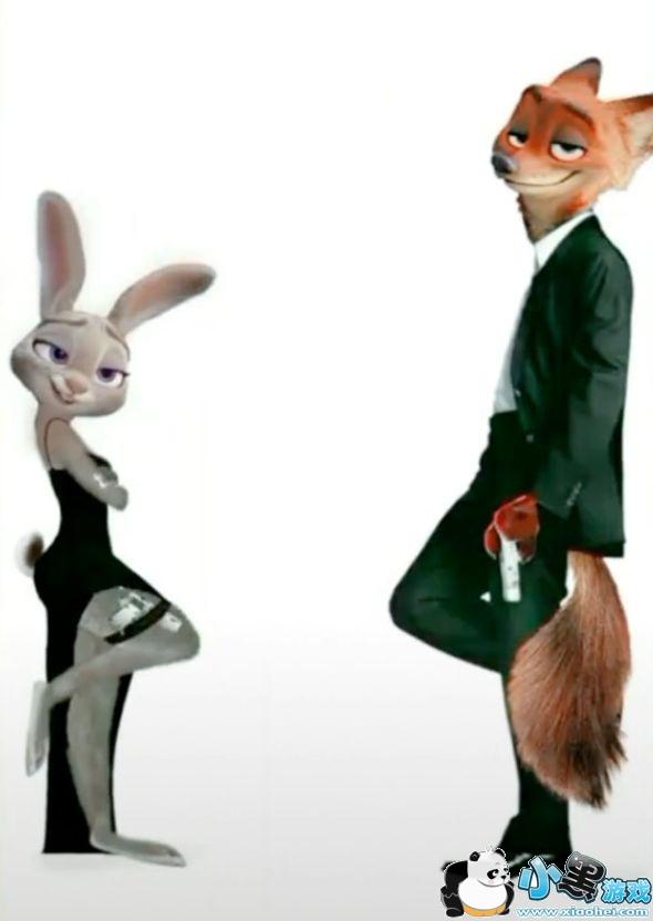 抖音兔子朱迪和尼克狐狸壁纸_疯狂动物城手机