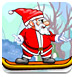 圣诞老人滑板大赛-体育小游戏