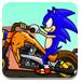 索尼克摩托车竞速-体育小游戏