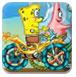 海绵宝宝自行车赛-体育小游戏